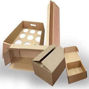 Упаковка произведенных товаров.